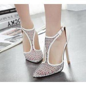 Pointue À Orteil 11cm Talon Femme Pour Chaussure Aiguille 2015 qUCwf4U