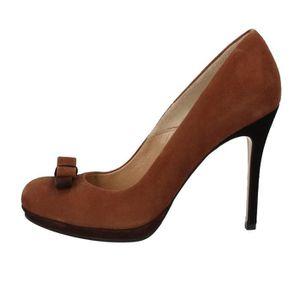 ESCARPIN GIANNI MARRA Chaussures Femme Escarpin Daim Marron
