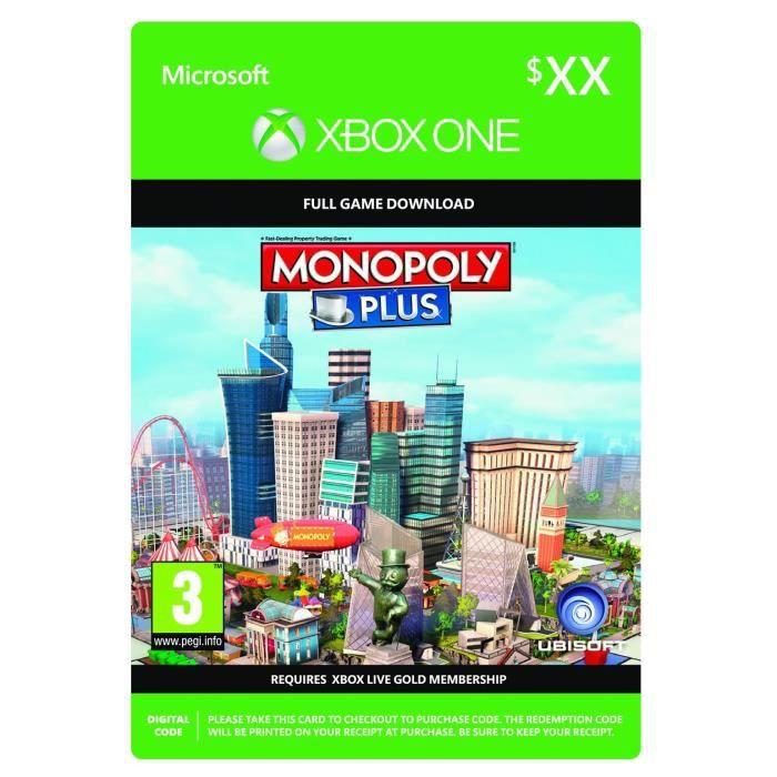 Monopoly Plus jeu Xbox One à télécharger