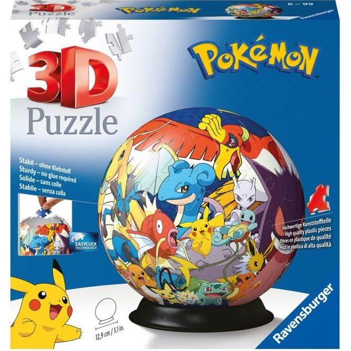 POKEMON Puzzle 3D 72 pcs