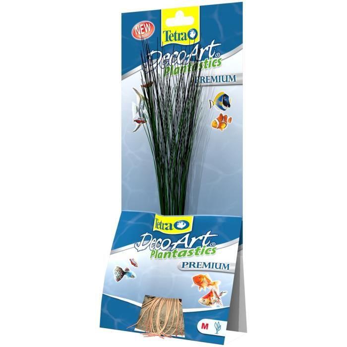 TETRA DecoArt Plante Premium Hairgrass M 24cm pour aquarium