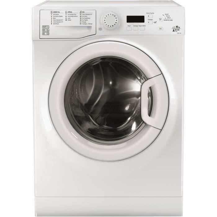 WHIRLPOOL WPSMLAU1014FR Lave-linge frontal - 10kg - 1400 tours / mn -  A+++