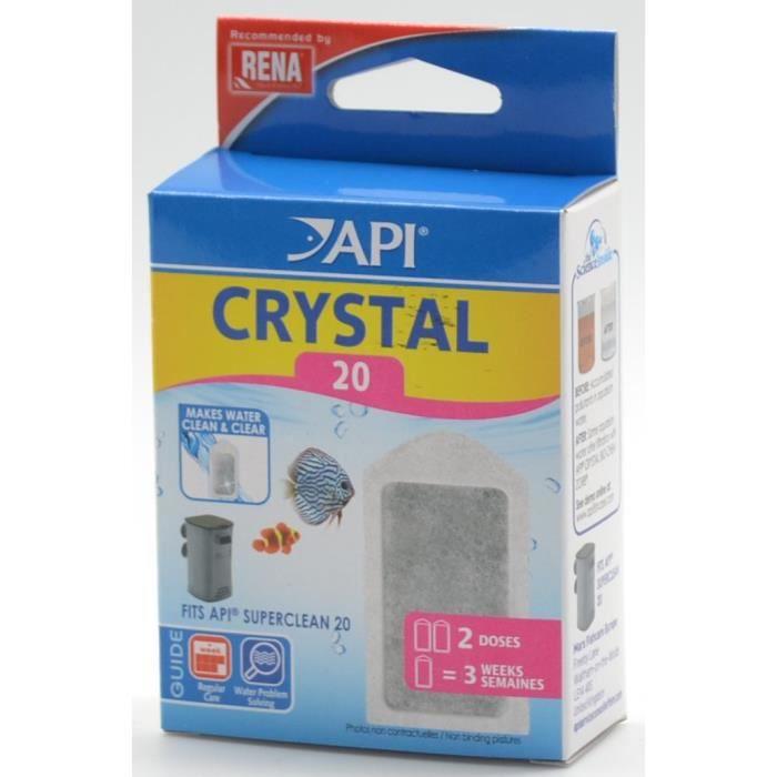 Api Filtre Crystal 20 (x2) Rena - Pour Aquarium