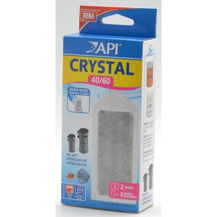Api Filtre Crystal 40-60 (x2) Rena - Pour Aquarium