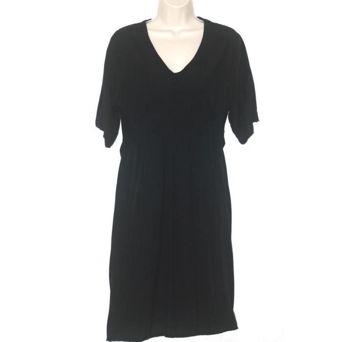 Robe noire manches courtes – Taille M/L