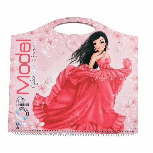 Top model cahier styliste create your glamour achat - Album de coloriage top model ...