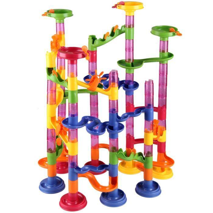 Séquence émotion : jeux éducatifs vintage Circuit-de-billes-a-monter-en-plastique-111-p
