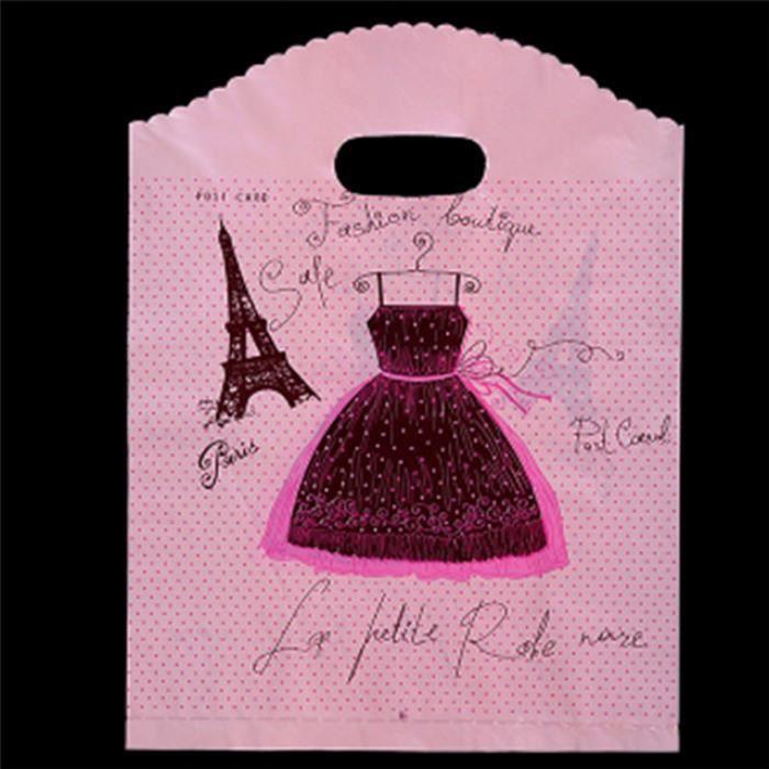 15x20 F14 10 Avec En 30x40 Poignées 30x40cm Version Plastique Pcs 35x45 Bag Skirt 20x26 Cm Sacs Plastic Shopping Pink 25x35 RWwUWq8dg