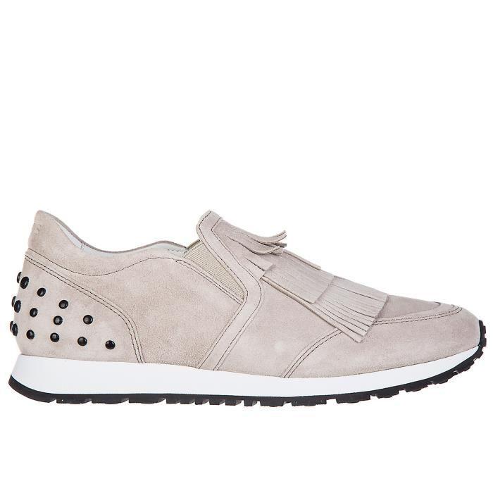 Slip on femme en daim sneakerssportivo Tod's