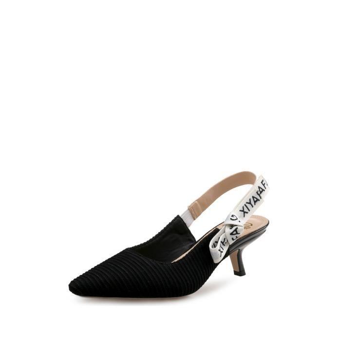 Vogue haut Sandales à talons Cusp Party Chaussures femme 4620522