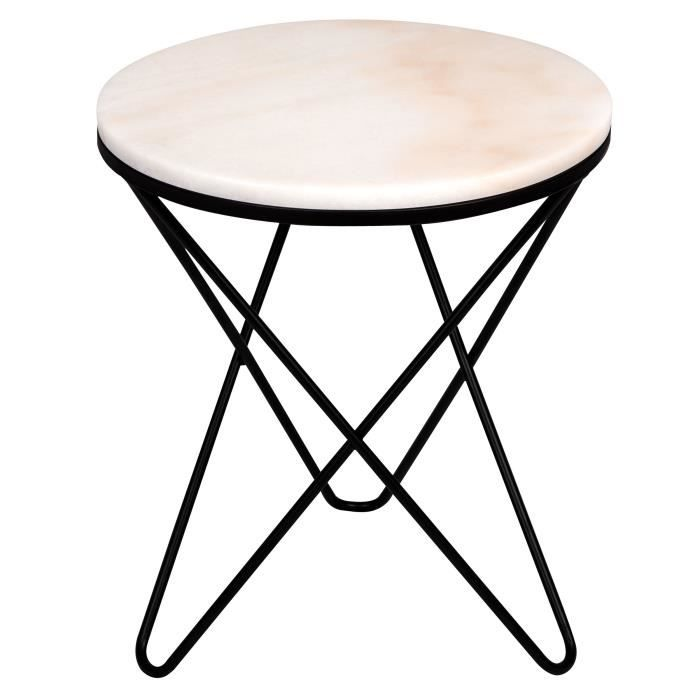 Table Dappoint Ronde Oda Marbre Blanche Achat Vente Table D