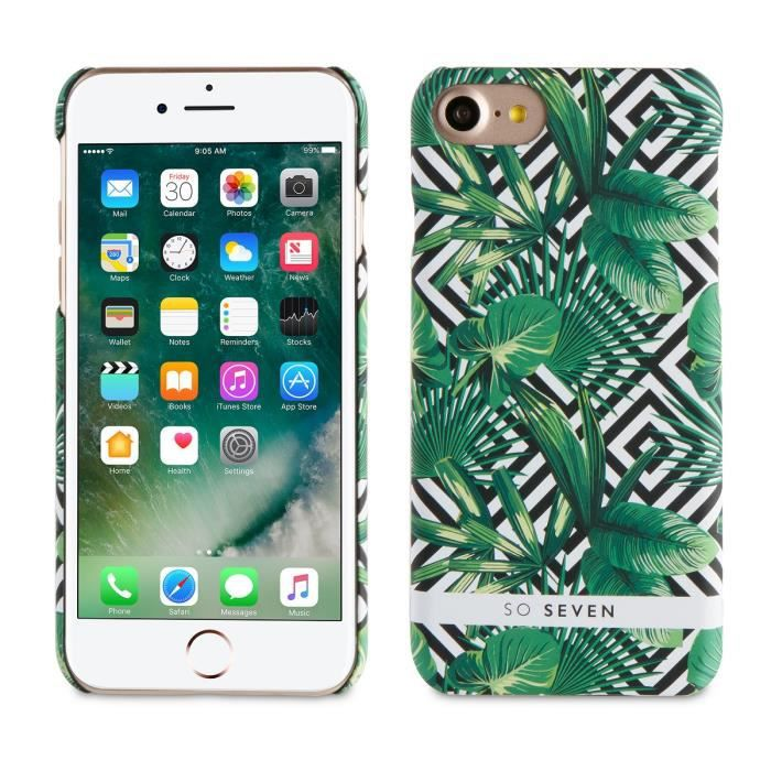 coque iphone 7 palmier