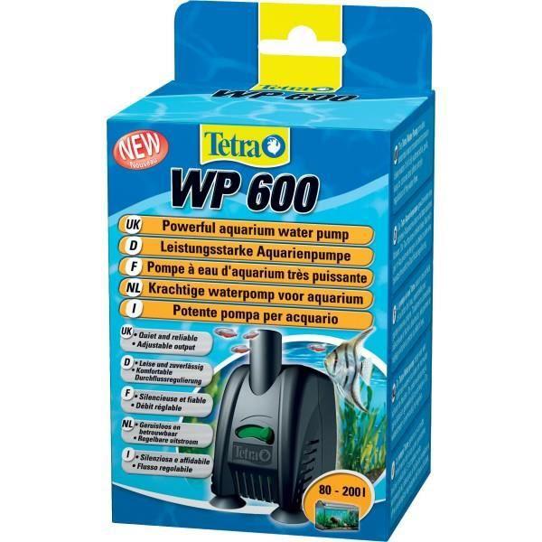 FILTRATION - POMPE TETRA - Pompe à eau pour aquarium Tetra WP 600