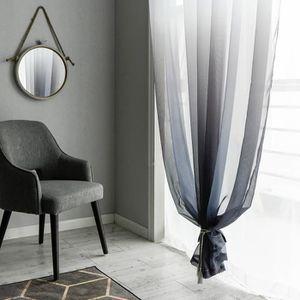 Rideaux salon gris voilage achat vente pas cher - Rideaux salon gris ...