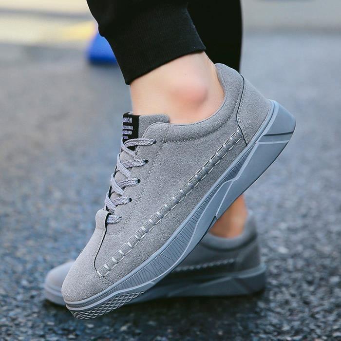 Basket Classique XZ272Gris39 ville Confortable mode Hommes de Ete chaussure WYS Homme TvtwdT