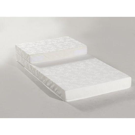 Confort Design Matelas Enfant Evolutif 90x190 Cm Mousse Ferme