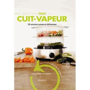 livre recette cuisine vapeur achat vente livre recette cuisine vapeur pas cher cdiscount. Black Bedroom Furniture Sets. Home Design Ideas