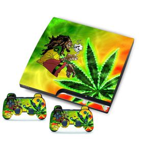 STICKER - SKIN CONSOLE Monstre Pour SONY PlayStation 3 Slim Mince Console