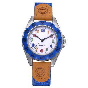 MONTRE Mode enfants filles Colorful Bracelet arabe Numéro