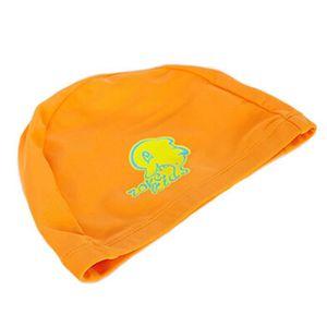 Tricoté piscine Lovely Dolphin enfants Caps bébé Bonnet de bain, Orange ab75d7a3d7f