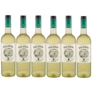 VIN BLANC Balaton Hongrie Vin Blanc  alc. 11% vol. 6 x 0,75l