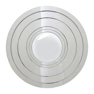 Miroir rond design achat vente miroir rond design pas cher cdiscount for Miroir rond 80 cm
