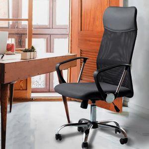 CHAISE DE BUREAU Fauteuil de bureau ergonomique confortable à haute