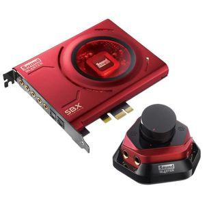 CARTE SON INTERNE Creative Labs Sound Blaster Zx, 5.1 canaux, 24 bit