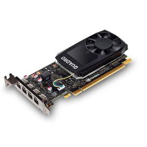 CARTE GRAPHIQUE INTERNE Fujitsu Quadro P1000, Quadro P1000, 4 Go, GDDR5, 1
