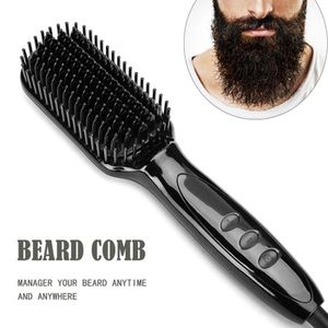 BROSSE SOUFFLANTE CODR Peigne barbe Lisse Brosse barbe en céramique