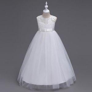 71ab7a78f17 ROBE DE MARIÉE Robe de fête Tulle Robe de soirée Enfants Fille de