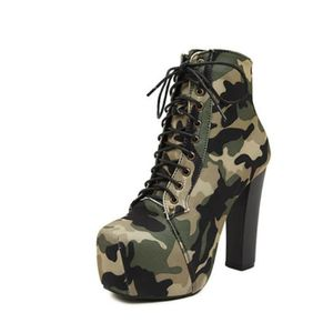 Chaussures bottine femme - sexy militaire Pu7sy8lBu