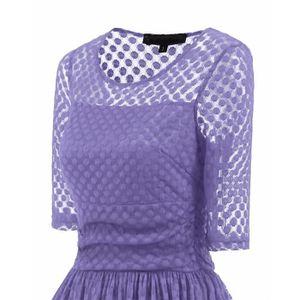 Achat Soldes Violet 9 Soirée Cher Vente Robe Le Dès De Pas qwt011