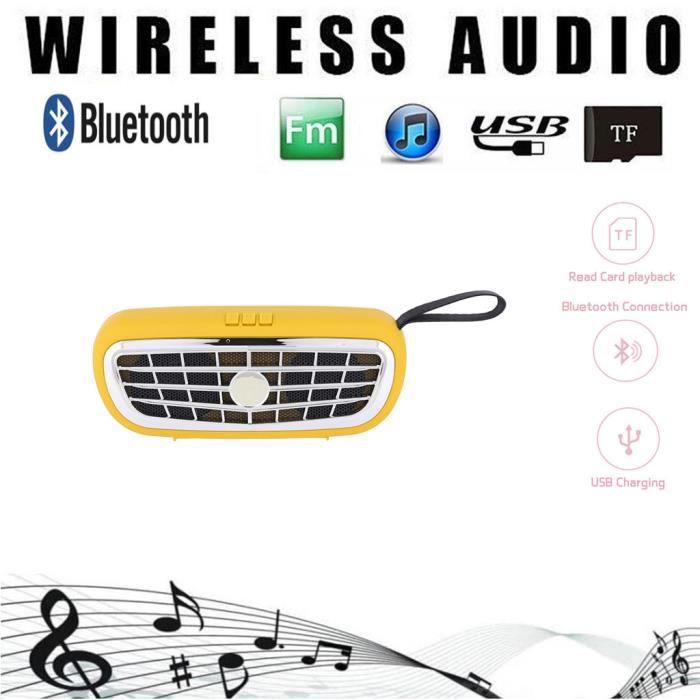 Portable Mini Haut-parleur Sans Fil Lecteur Usb Radio Fm Bluetooth Lyyx513