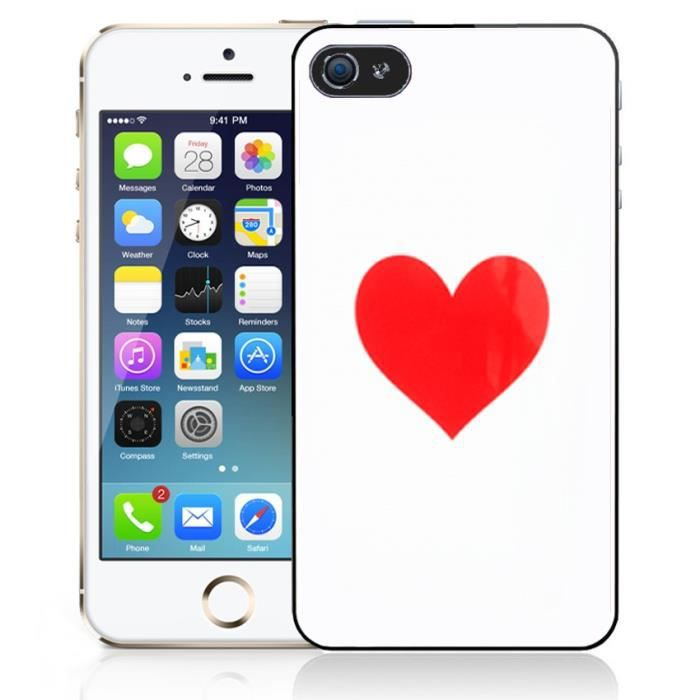 coque iphone 4 coeur