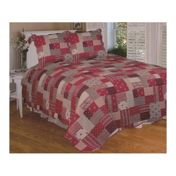 couvre lit patchwork achat vente couvre lit patchwork pas cher soldes d s le 10 janvier. Black Bedroom Furniture Sets. Home Design Ideas
