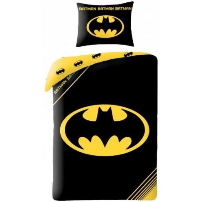 Parure De Lit Batman Achat Vente Housse De Couette Et Taies