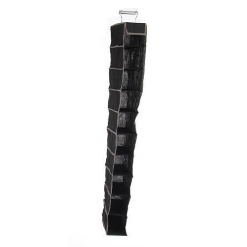 Rangement pour chaussures 10 compartiments en tissu for Housse rangement chaussures