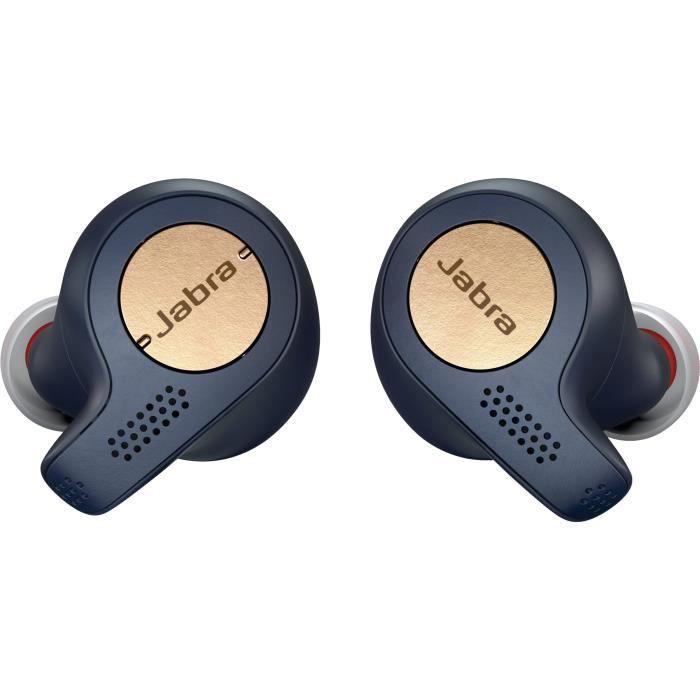 Jabra Elite Active 65t Ecouteur Copper - Bleu Ecouteurs True Wireless