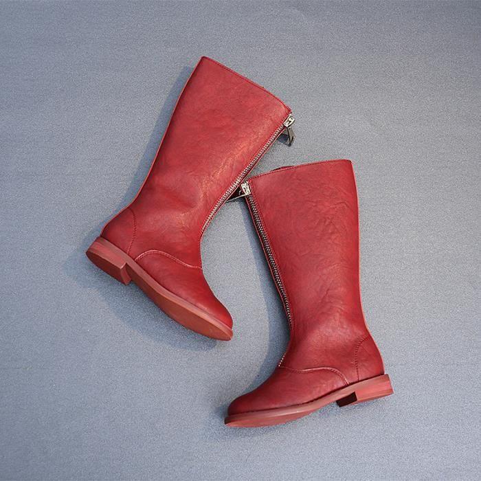 Enfants Chaussures Bébé filles Mode Chaussures épaissies Bottes