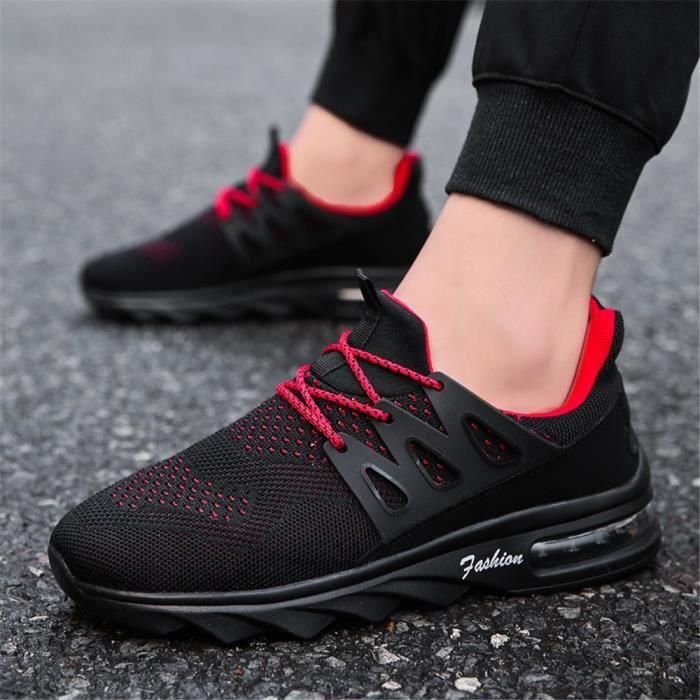 Entreprise noir gris Mode Couleur De Plus Rouge Léger Antidérapant Personnalité Sneakers Poids Nouvelle Chaussures Baskets Homme ASw67q