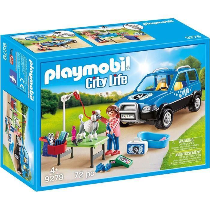 Véhicule Toiletteuse Life Playmobil City Nouveauté 9278 2019 Avec N8n0vmOw