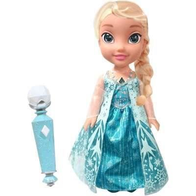 POUPÉE LA REINE DES NEIGES Poupée Chante Avec Elsa - 38 c