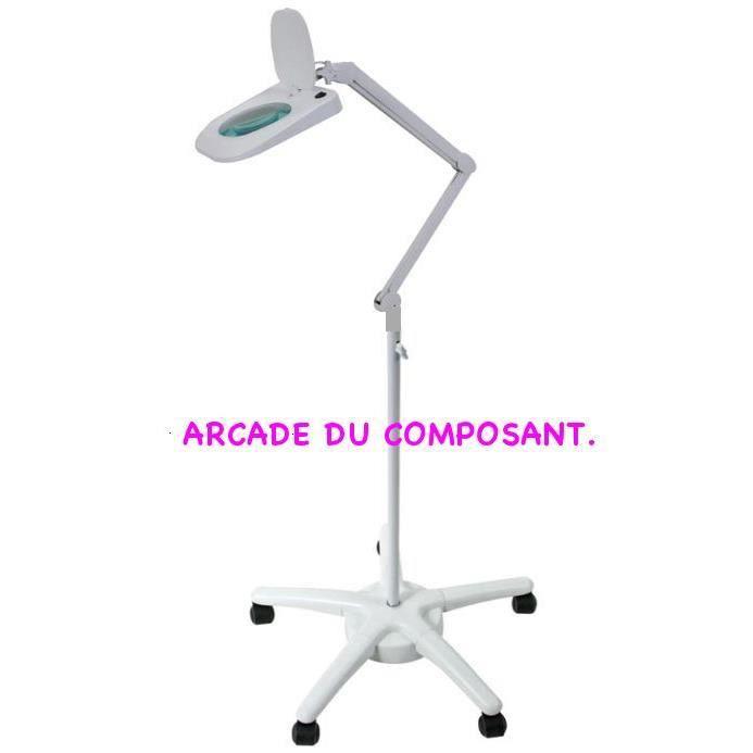lampe loupe sur pieds - achat / vente lampe loupe sur pieds pas