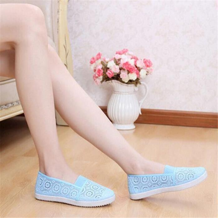 chausson femme Confortable pantoufles femmes chaud hiver peluche Durable intérieur chaussures Classique mode c dssx348blanc41 g97D9