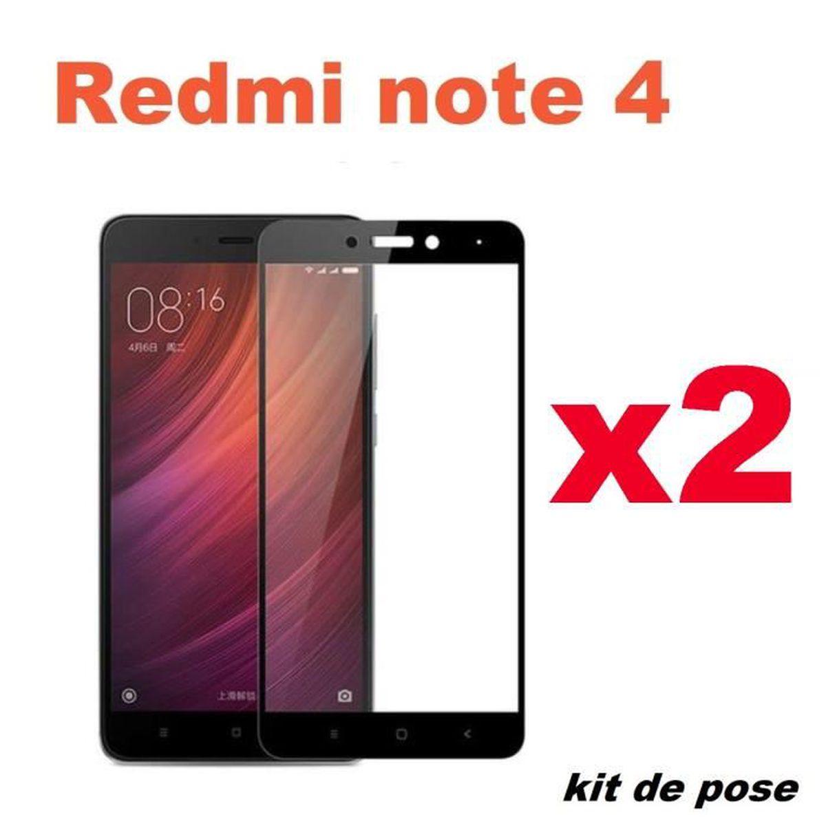 Verre Trempe Xiaomi Redmi Note 4
