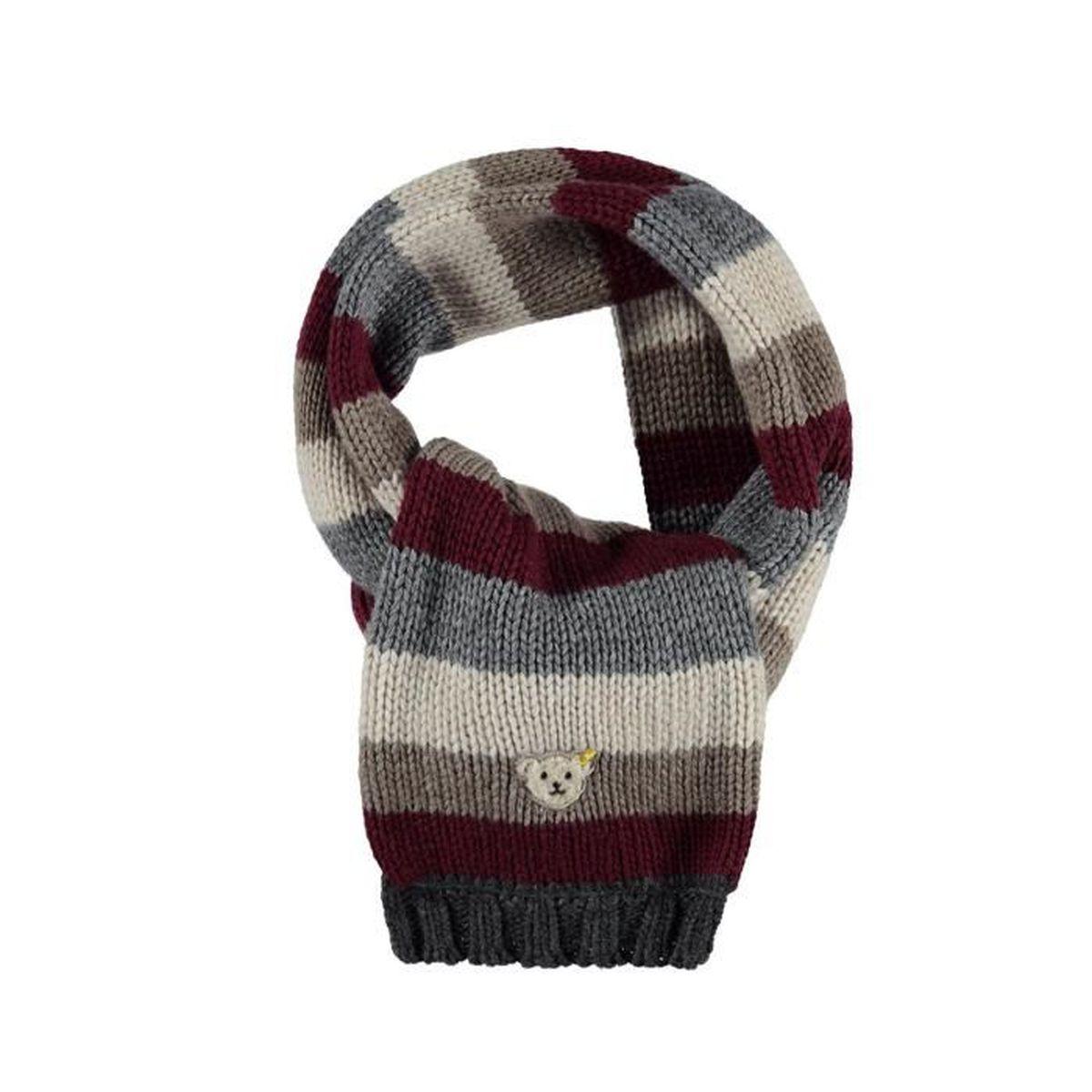 62e805cd28f8 Echarpe pour enfant Redwood Country 100% coton (rouge, gris, blanc ...