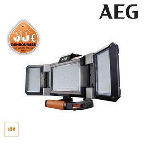 LAMPE DE CHANTIER Projecteur LED AEG triple panneau 18 V Prolithium-
