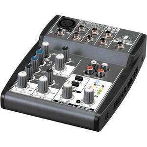 TABLE DE MIXAGE BEHRINGER XENYX 502 Table de mixage analogique