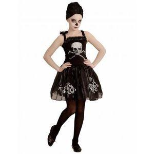 ACCESSOIRE DÉGUISEMENT Déguisement danseuse ballerine squelette noire fil